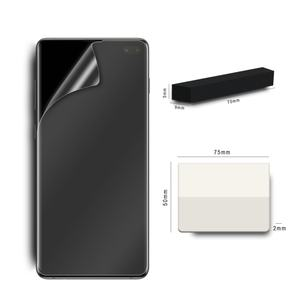 For samsung galaxy s10 5g screen protector soft tpu full cover side glue