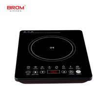 220v table touch control home single hob steam egg cooktop 1 burner multi cooking induction cooker hot pot electric stove cooker