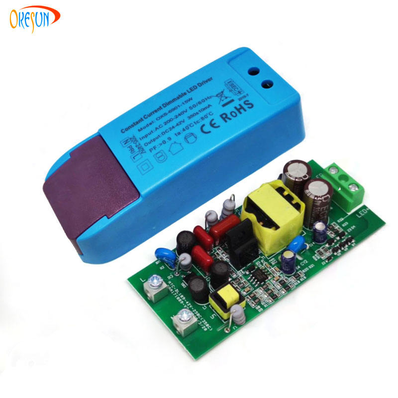 CE SAA 7W 9W 12W 15W TRIAC dimmable Constant current led driver