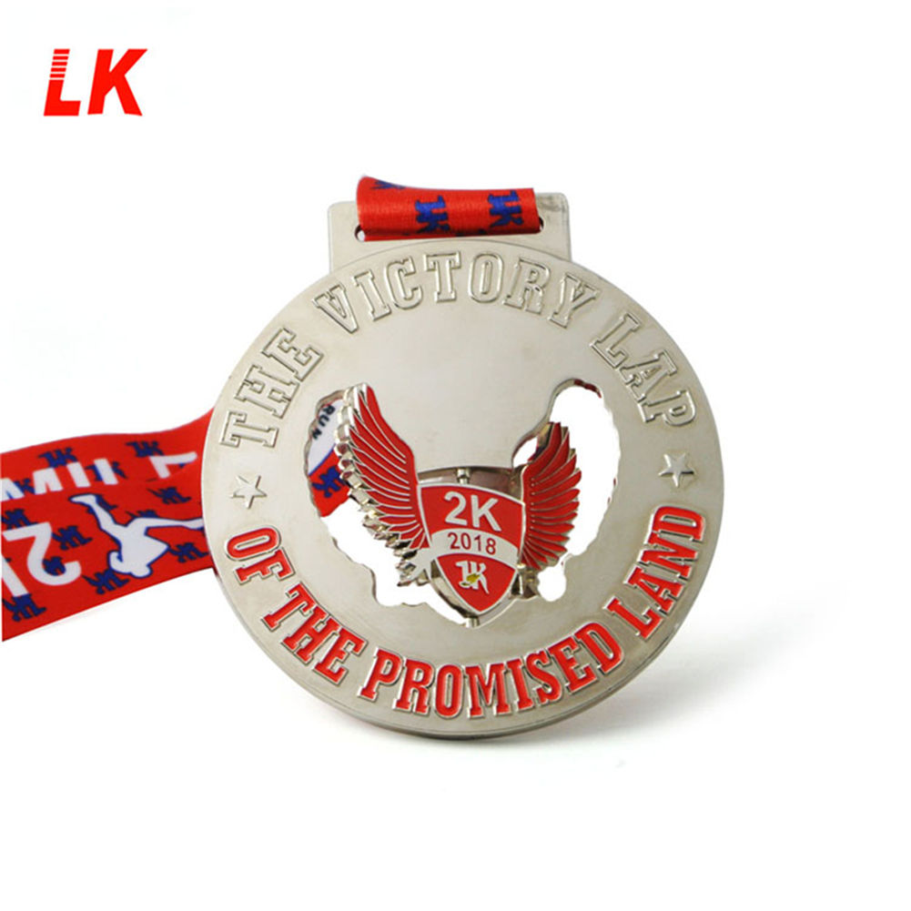 Brand new Enamel run gift sport miniature Medal For Winner