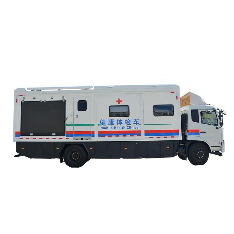 Durable mobile clinic mobile clinic bus