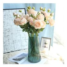 Wedding Decorative Flowers Artificial Silk Peony Flower for Home Decoration