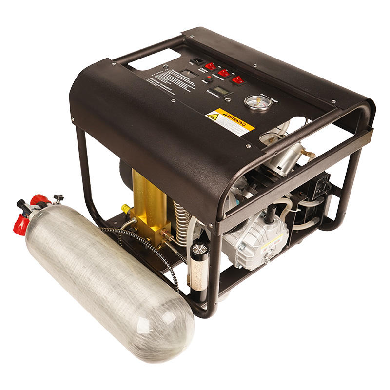 TUXING 220V 300bar 4500 psi High Pressure Double Cylinder Electric PCP Air Compressor