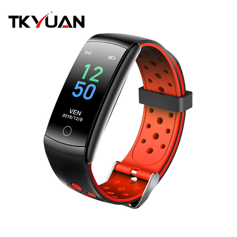 Blood Pressure [ Cheap Android ] Fitness Bracelet Wristband 2020 Cheap Men Women Smart Bracelet Q8L Android Smart Band Blood Pressure Monitor Wristband Fitness Traker