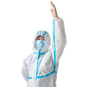 disposable safety suit clothing for medical