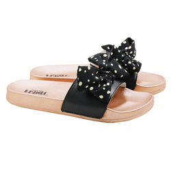 wholesale retail new fashion comfort casual outdoor EVA sandals women slipper with bowknot