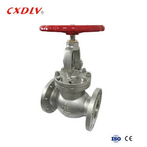 3 inch stainless steel flange end globe valve pn16 factory price