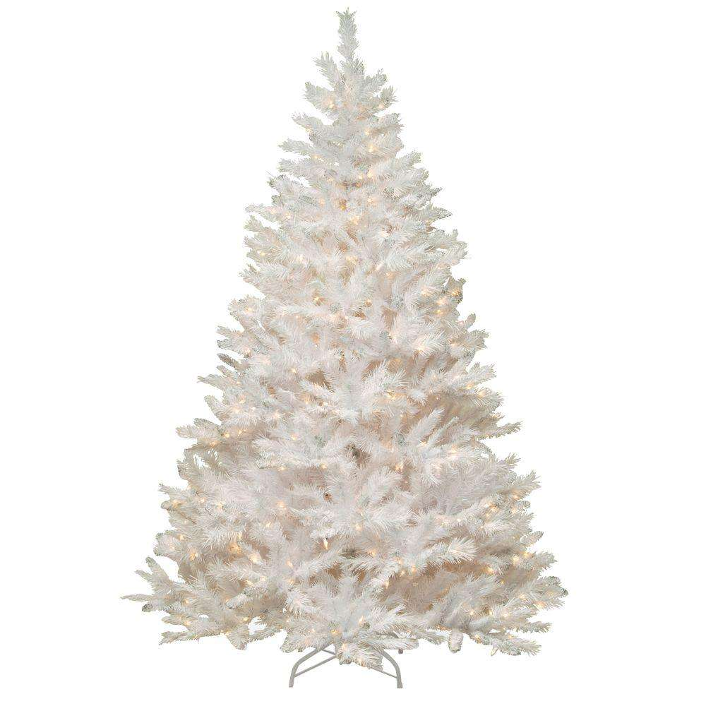 Xmas Tree Party Home Decorations 150Cm 180Cm 210Cm White Artificial Ornaments Stand Christmas Tree
