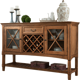 New home furniture solid wood dining side table drawers