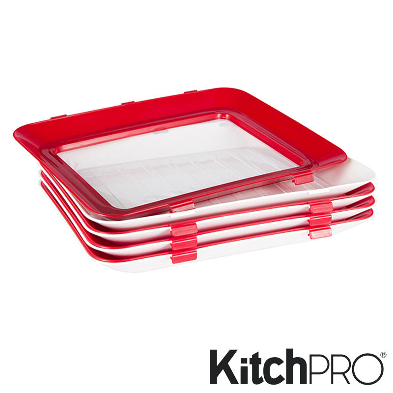 Best Sellers Plastic Food Preservation Kitchen Tray Food Storage Container Clever Tray