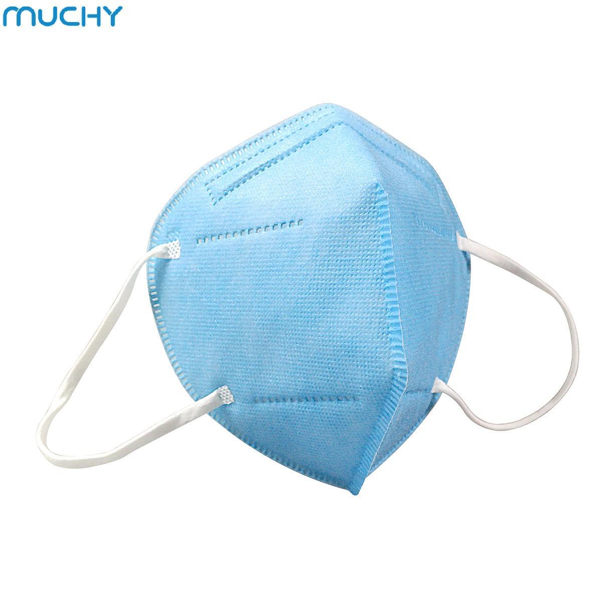 Funções muchy Marca 50 Pack Máscara de Protecção Facial 95% Camada de Filtração> 95% 5 Contra Poeira, Gotas