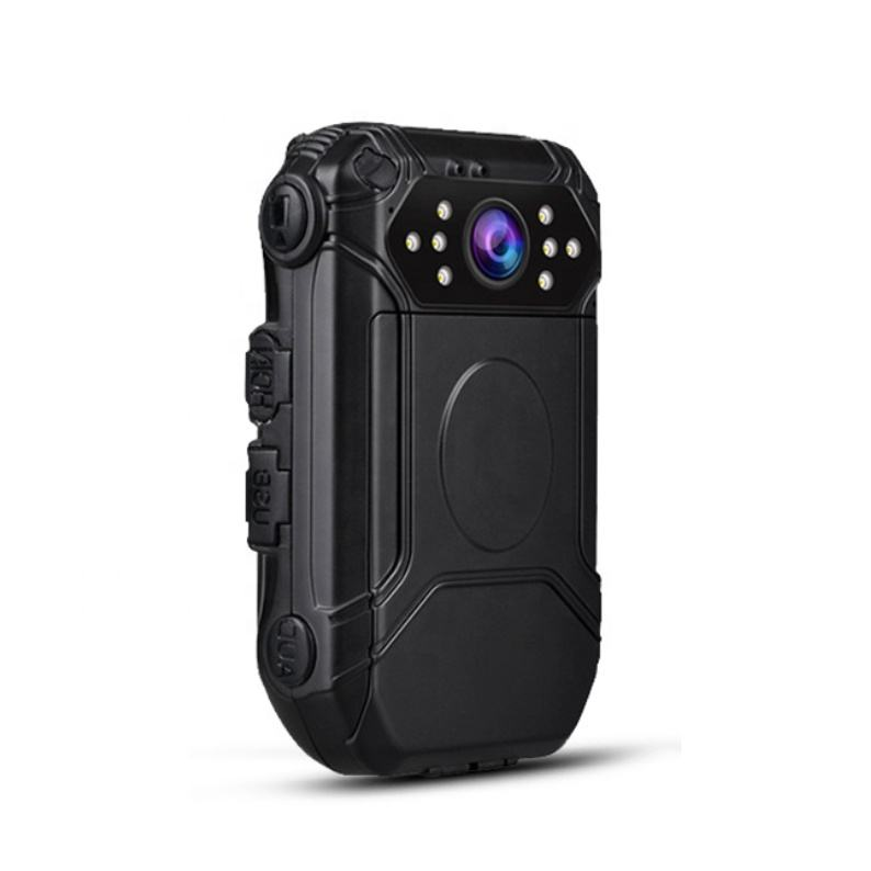 2020 new police video body worn camera for security guard with gps remote control replaceable battery