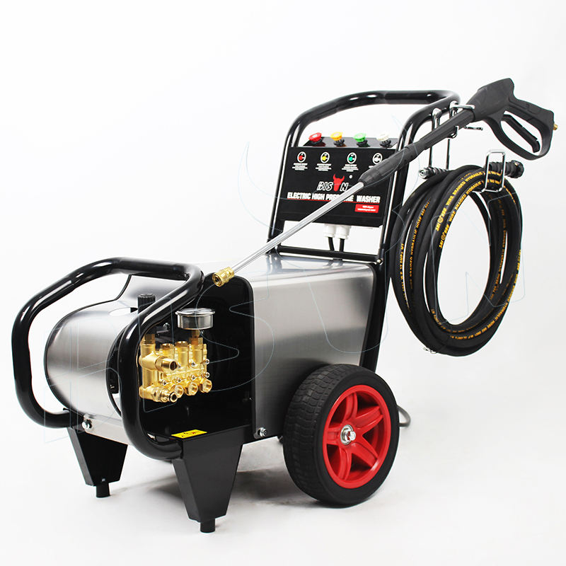 Electric jet commercial 120-140Bar high pressure car washer