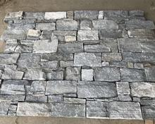 Slate culture stone,grey natural stone wall cladding