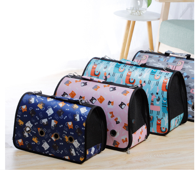 Eco-Friendly Pet Carrier Cat Tote Bag Dog Travel Bag