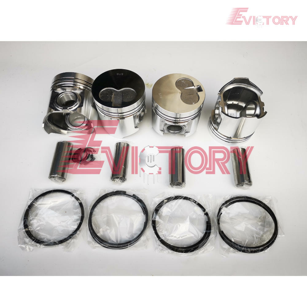 For KOMATSU 3D94 piston ring cylinder liner kit