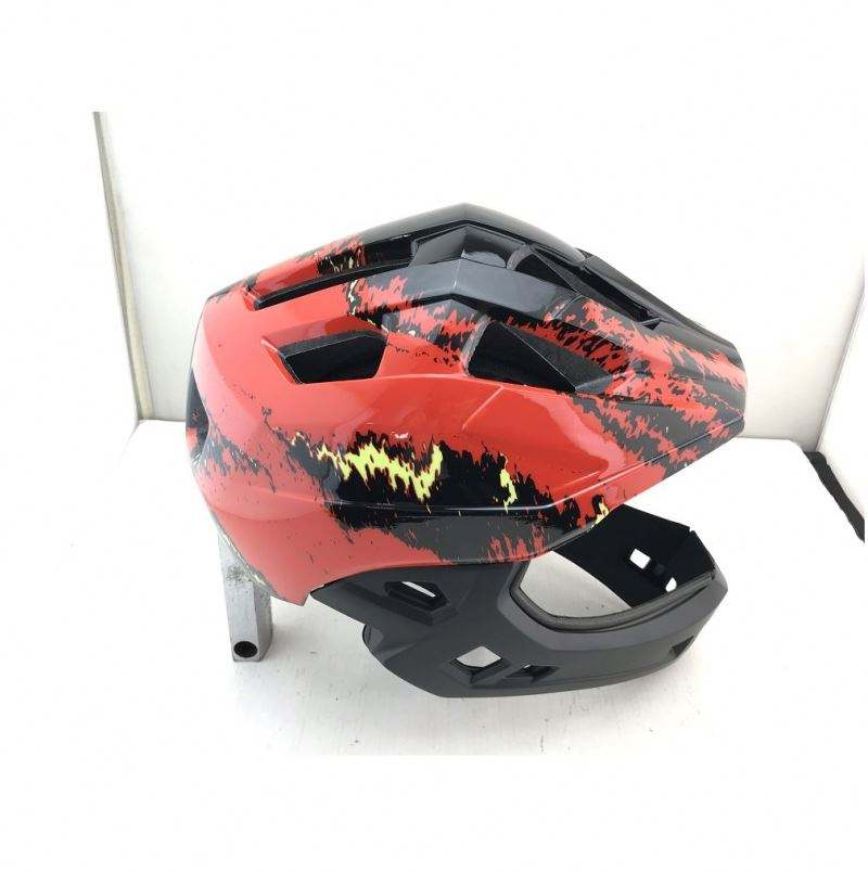 Full Face BMX Bike Helmet With Removable Chin Guard