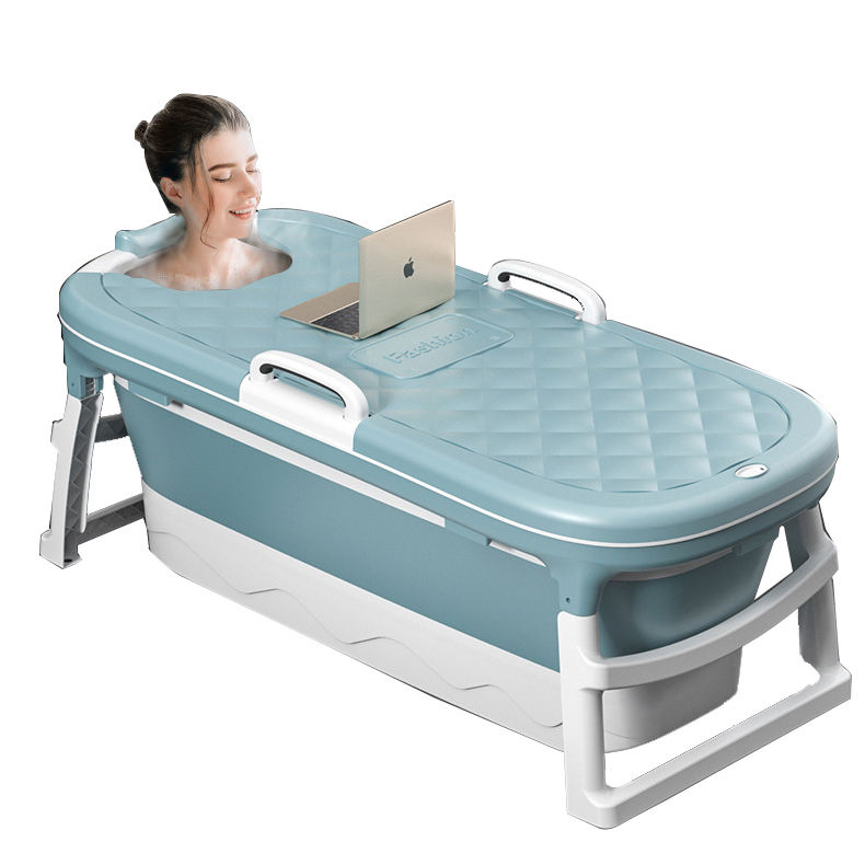Square Bathtub Portable for Adult Bath Mini Soap Dish Adults Plastic Tub