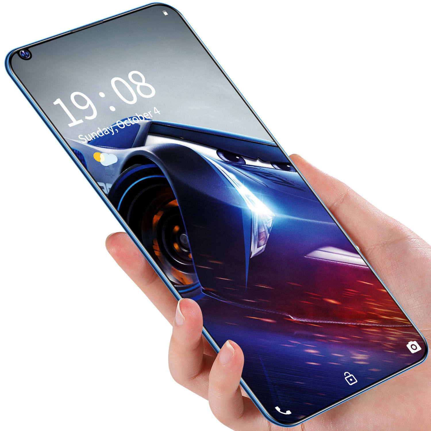 3G Smart Phone 6.72 Inch 720*1560 High-Definition Gebogen Scherm SC7731E 2Gb Ram 16Gb rom Android 8.1 2300Mah <span class=keywords><strong>Mobiele</strong></span> <span class=keywords><strong>Telefoon</strong></span>