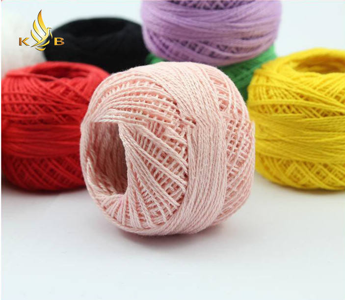 100% pearl cotton thread for crochet