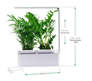 New product ideas 2020 light 10W hydroponic kitchen growing smart garden system indoor