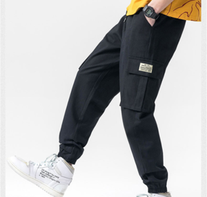2020 fashion sweatpants hip hop sports pants boys cargo pants