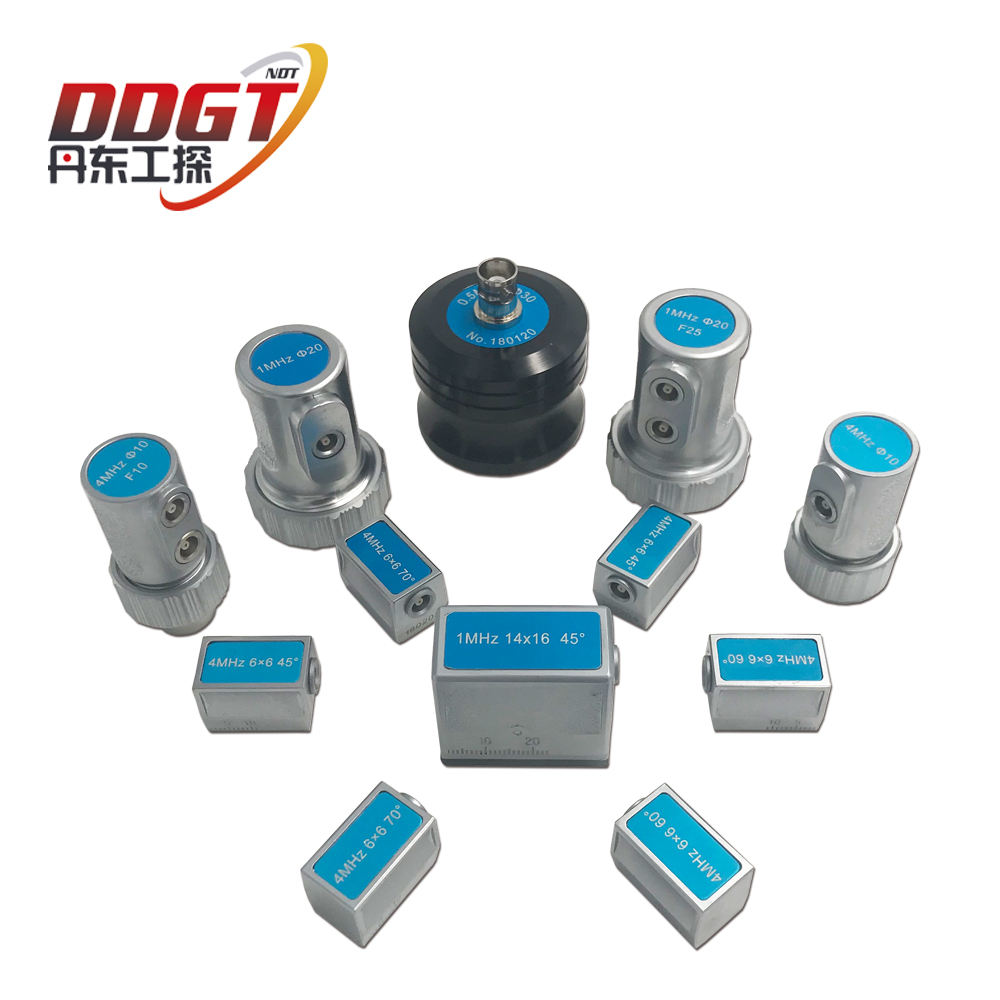 Angle Beam Transducer Ultrasonic Flaw Detector Probe NDT UT Weld Inspection Testing Instrument