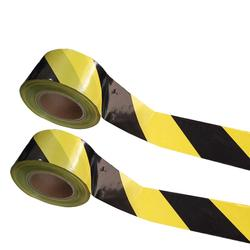 width 5cm/7.5cm/10cm  police using yellow black caution tape