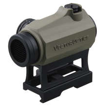Vector Optics Maverick 1x22 Dark Earth Rubber Cover Lower 1/3 co-witness Tactical Red Dot Sight Scope IPX6 Water Proof