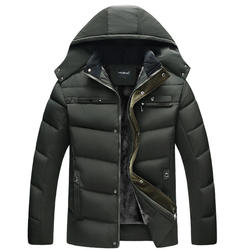 Thicken Men Coat Winter high cost performance Mens heavy thi