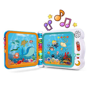 Educational toy electronic Kids sound board custom music coloring button magical my hot book