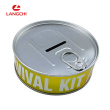 Wholesale OEM Package Self Sealed Food Grade Small Round Metal Tin Box For Tin Cans With Lid