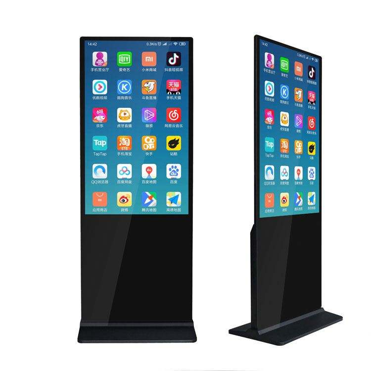 factory supply 32 43 49 55 65 inch floor stand digital signage / lcd display / advertising screen