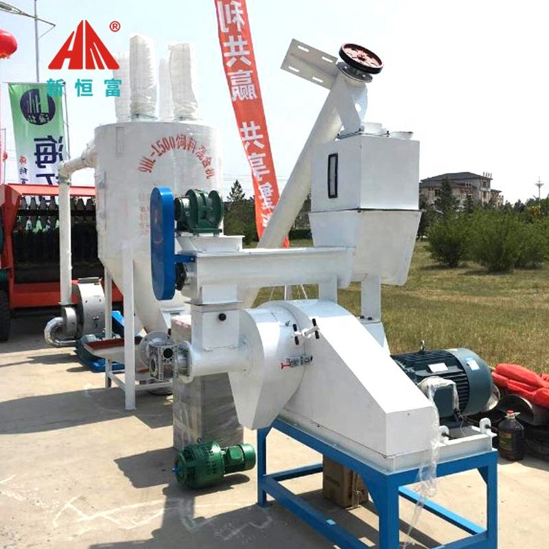 HF animal farm fodder equipment 1000kg cattle feed production line