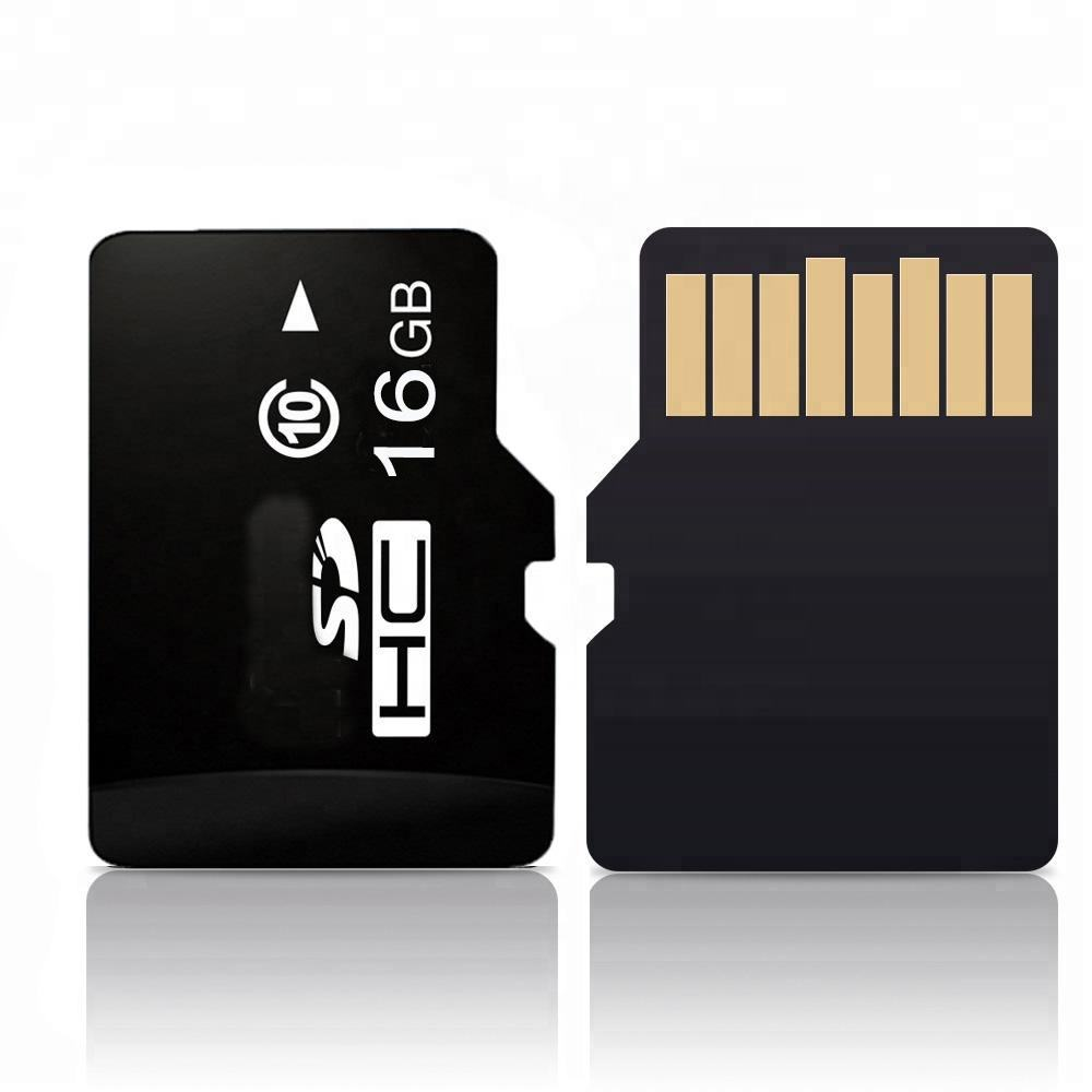 over 10 years life span C10 16 gb sd card memory chip with Free adapter