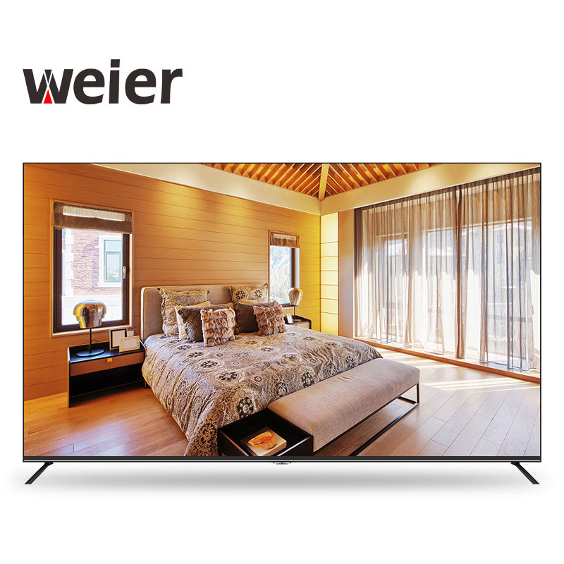weier Large Screen 32 50 55 65 inch Television Smart TV 4K hotel LCD televisions Smart TV