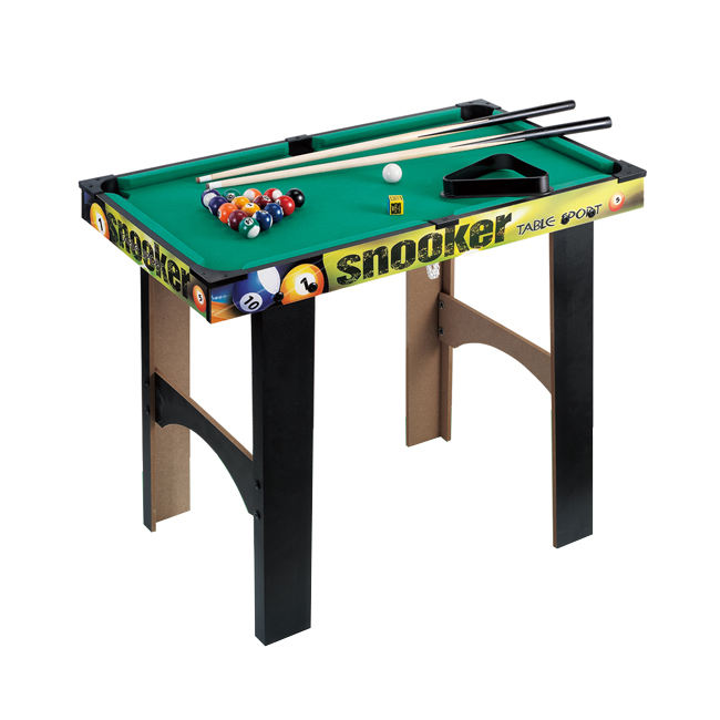 Kids indoor play wooden billiard game snooker toy mini pool tables HC471539