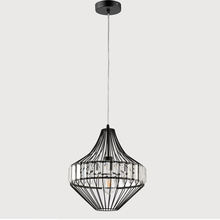 American style modern creative iron crystal chandelier decorative lamps