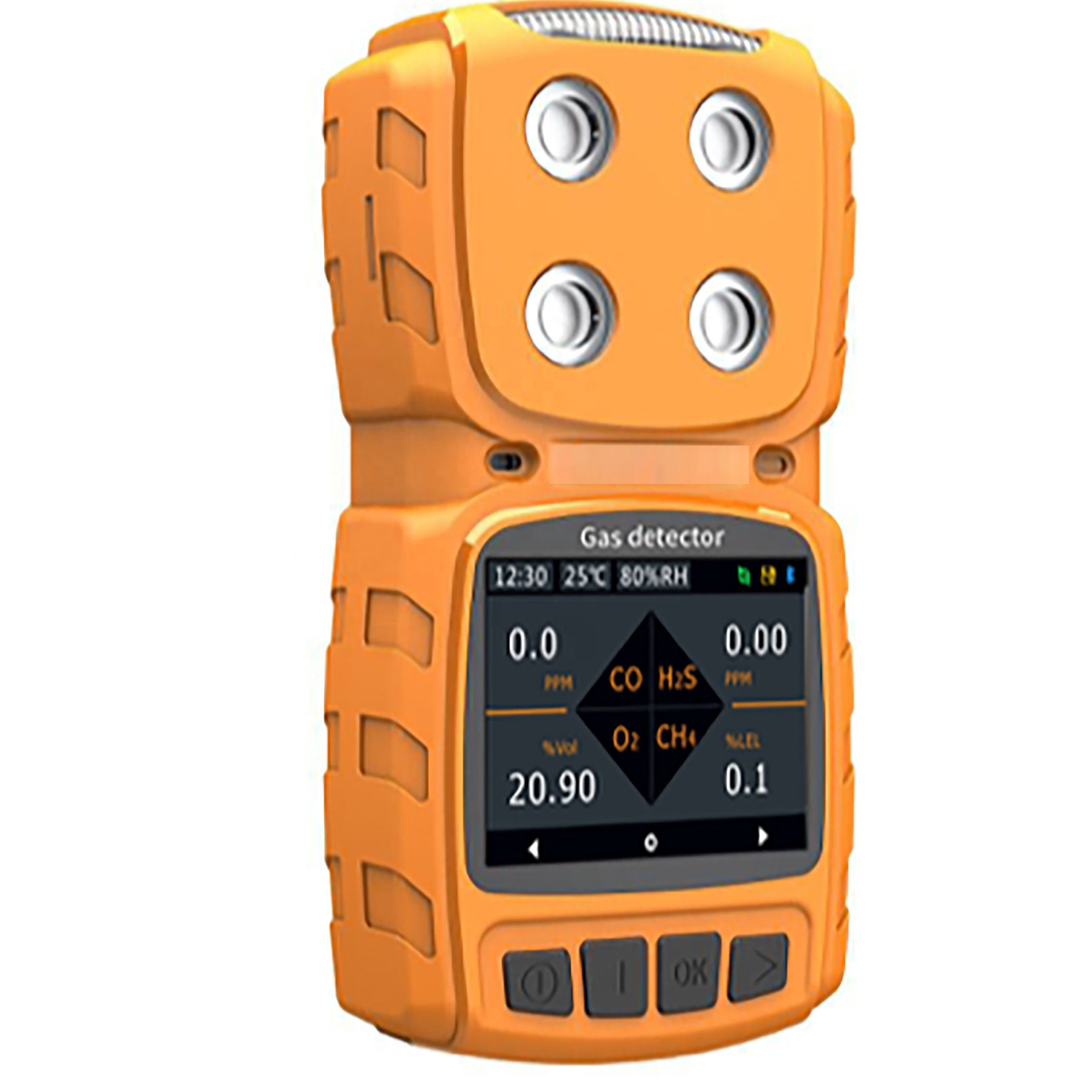 MS104K-Methane Detector Portable Four-In-One Gas Detector Similar Honeywell Alert Imported Catalytic Combustion Sensor