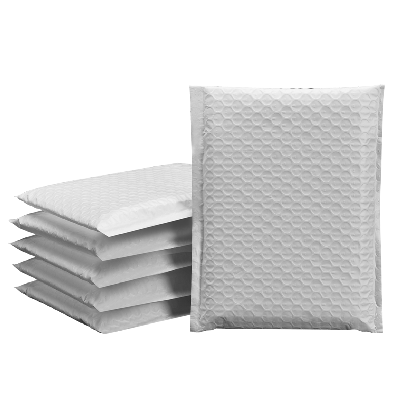 Custom Metallic bubble mailer padded envelopes/aluminum foil mailing bags/custom waterproof shipping mailer