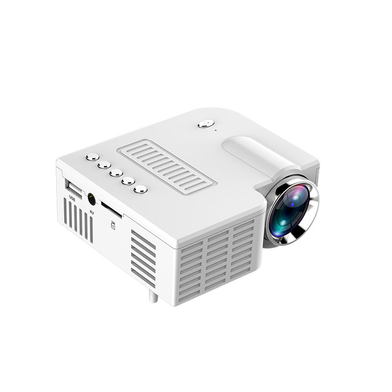 2019 multi-color low cost phone projector unic usd powered projector 1080p support mini led video projector UC28C