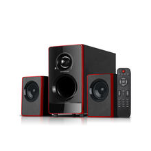 Hot selling wireless USB/SD/BLUE TOOTH/LED 2.1 pc multimedia speaker