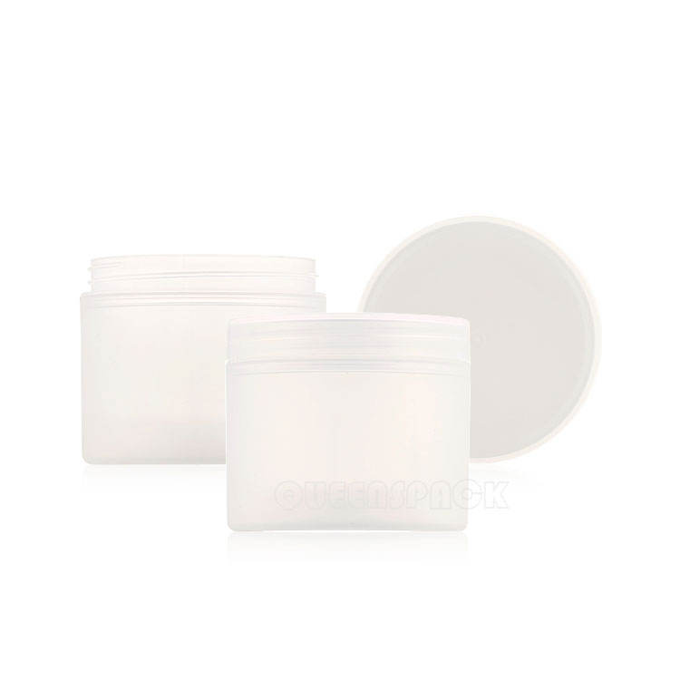 Custom Cosmetic Jar Set White Cosmetic Face Cream Jars