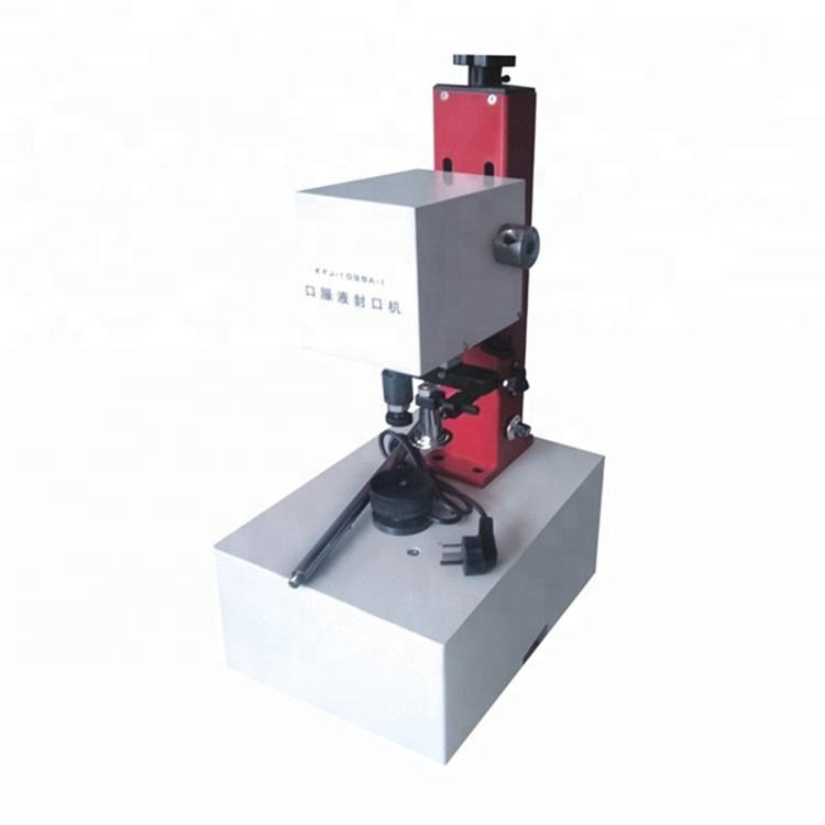 Manual Oral Liquid Cap Locking Machine