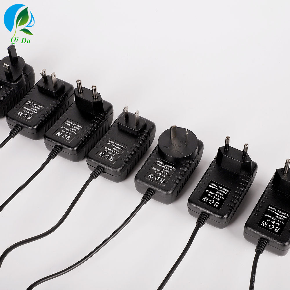 EU UK US AU Plug AC 100-240V to DC 5V 9V 12V 24V 15V 36V Adapter 1A 1.5A 2A 3A 4A 5A 8A 10A 12.5A Switching Power Supply
