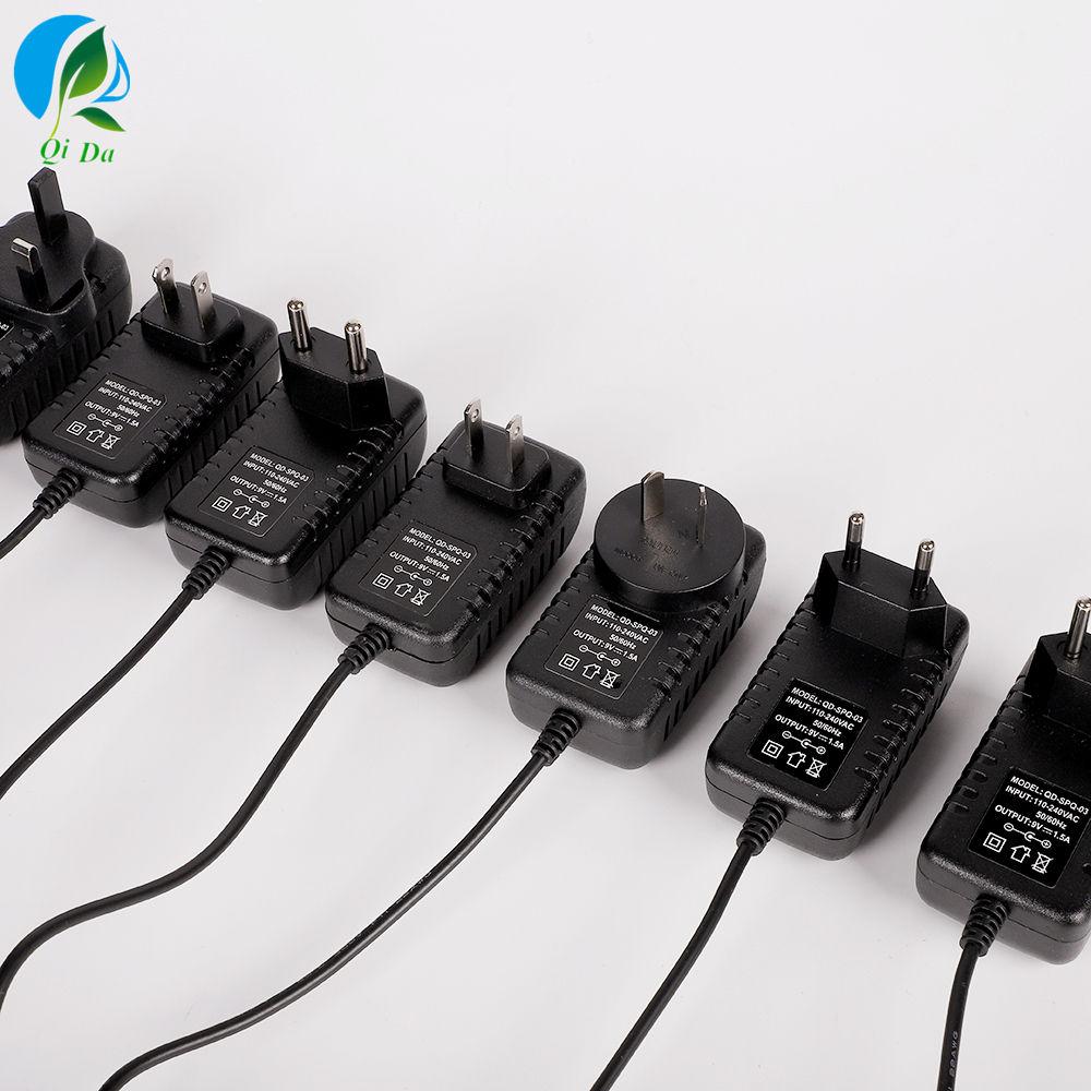 UK Plug//US Plug//AU Plug//EU Plug for LED Light LED AC Adapter 110V 220V 240V to DC 15V Power Supply Plug