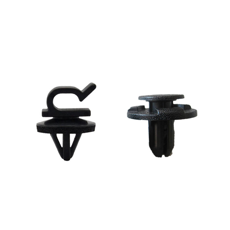 Custom Hot Car Accessories Spare Parts Auto Plastic Clips Fasteners For Car