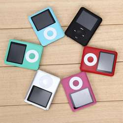 1.8 inch LCD Screen MP3 MP4 Music Player Metal Housing 4BG 8GB 16GB 32GB MP4 Player Support E-Book Reading FM Radio MP4