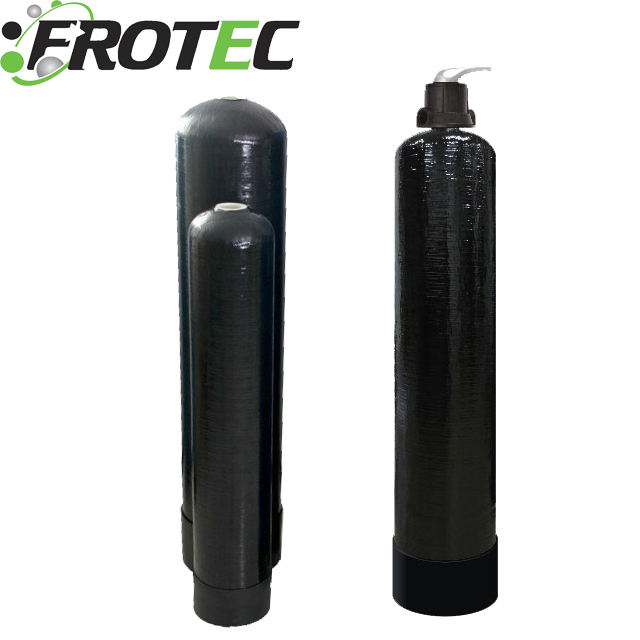 China Frotec Softener FRP TANK 844 1865 2472 3072 150PSI Black/Blue/Green/Nature Color