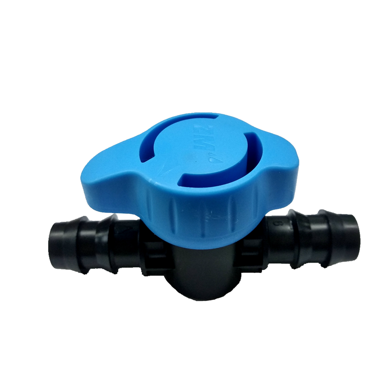 Agriculture /garden irrigation barbed off- take valve for Drip Tape Irrigation